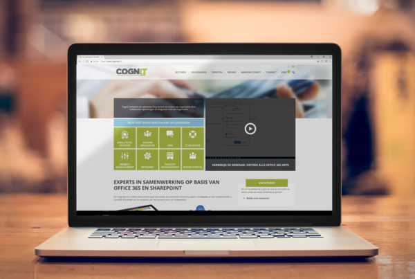 website design for Cognit made by Living Stone