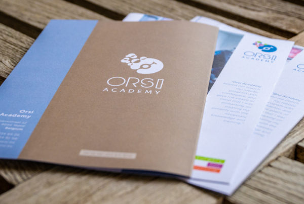 Brochure orsi academy made by Living Stone