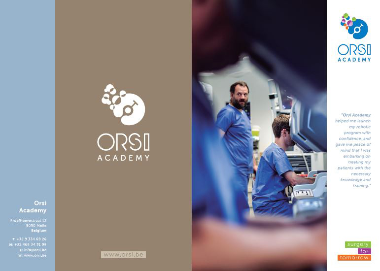 brochure orsi academy by Living Stone