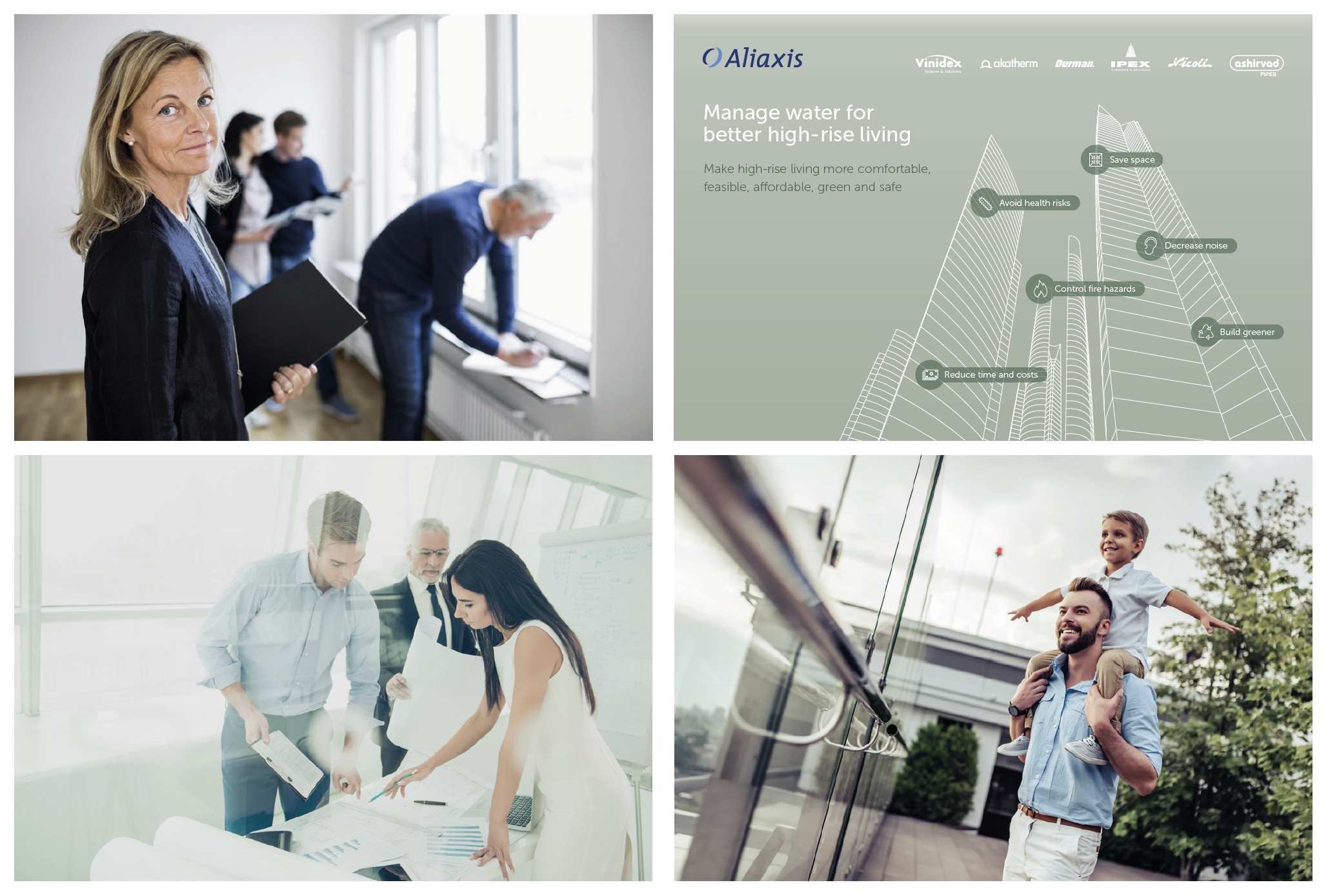 Website development for Aliaxis by Living Stone