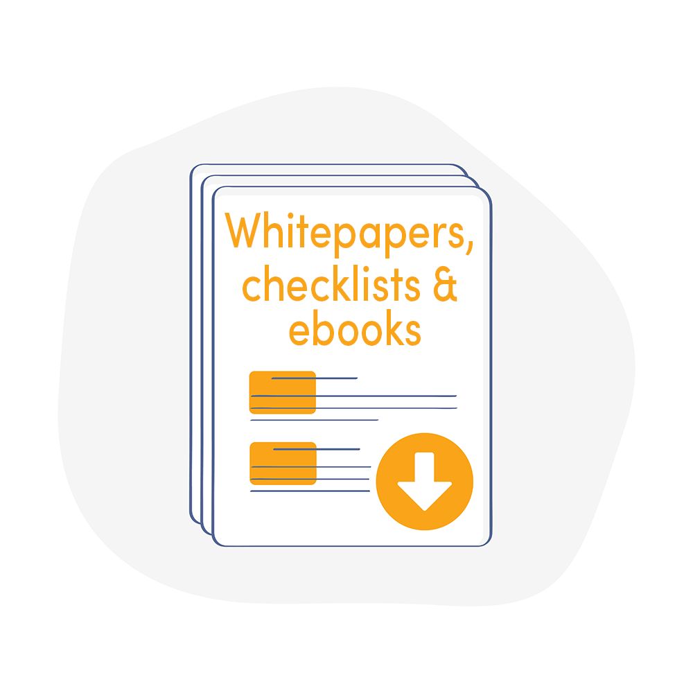 Whitepapers, checklists, ebook digital marketing Living Stone b2b marketing agency